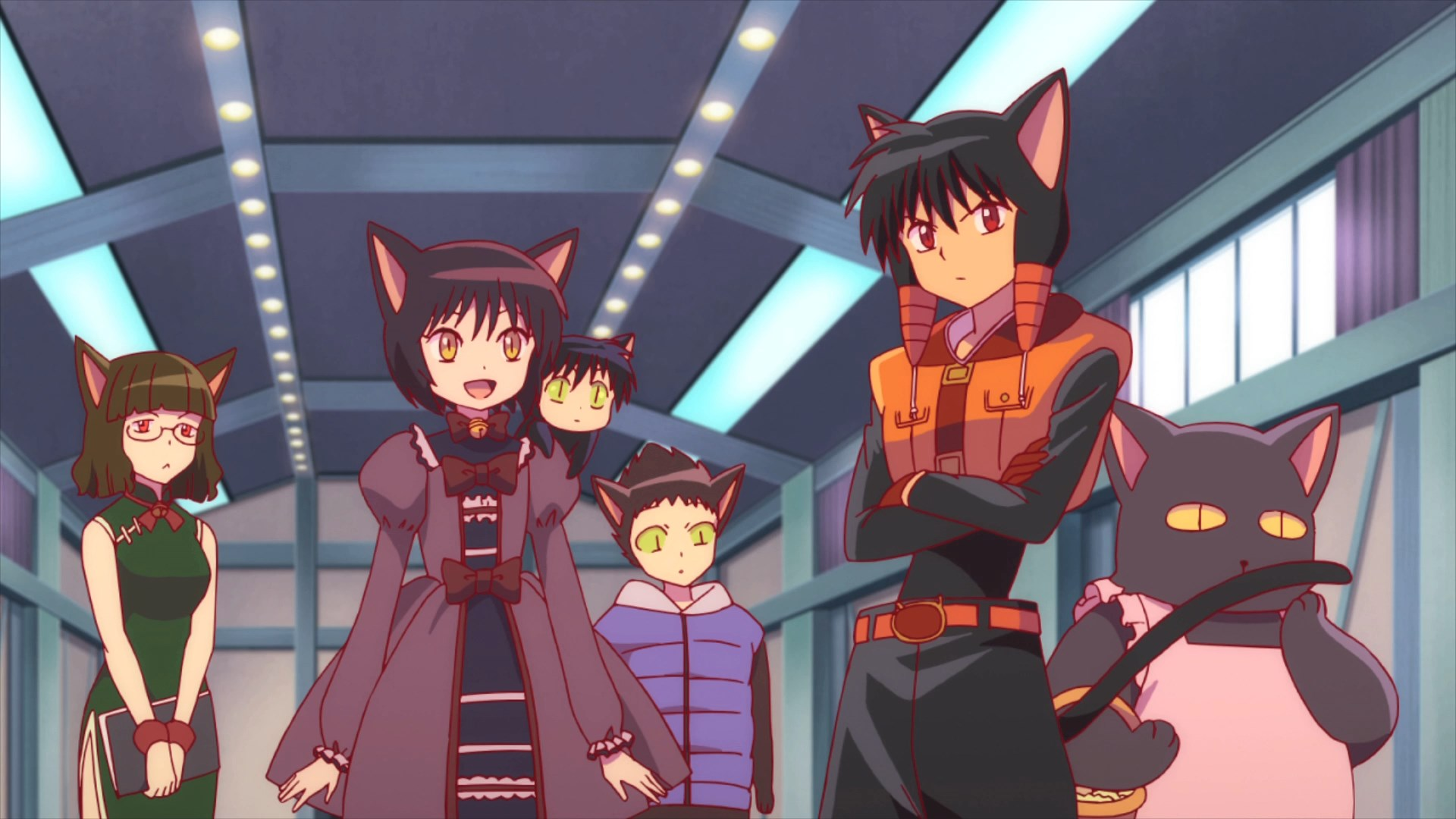 Kyoukai No Rinne 43 Black Cat Test Time Astronerdboy S Anime