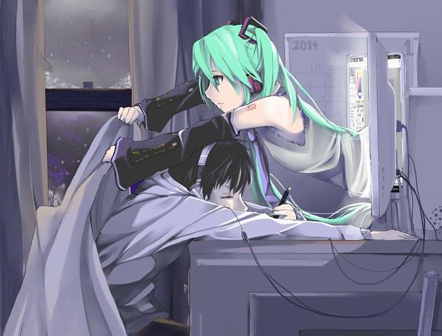 Hatsune Miku Computer