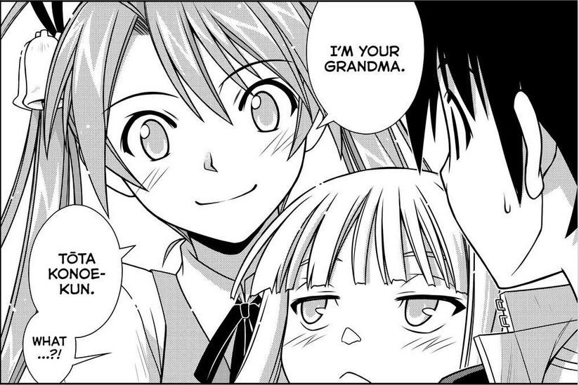 uq holder chapter 131 manga review  grandma fun