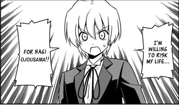Hayate the Combat Butler Chapter 556