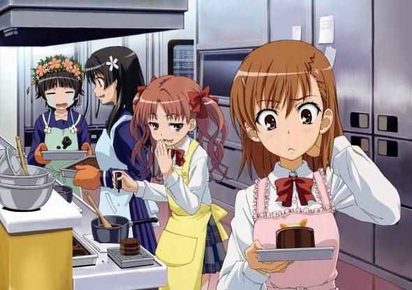 Mikoto Kuroko Saten Uiharu Chocolate Valentine