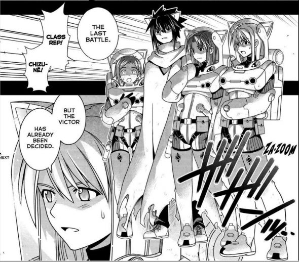 UQ Holder Chapter 139