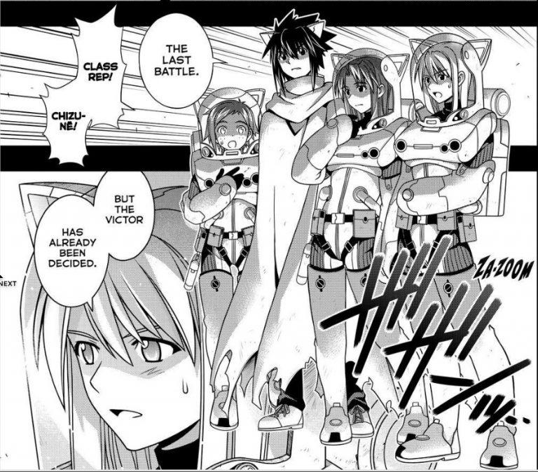 UQ Holder Chapter 78 Manga Review (A grown man shouldnt