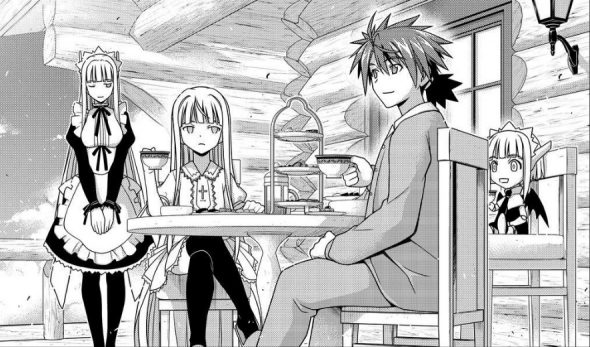 UQ Holder Chapter 149