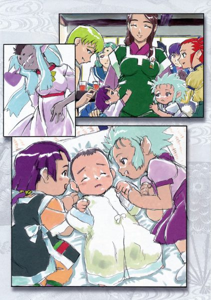 Tenchi Muyo! Ryo-ohki - Tenchi's Daughters Seina's son