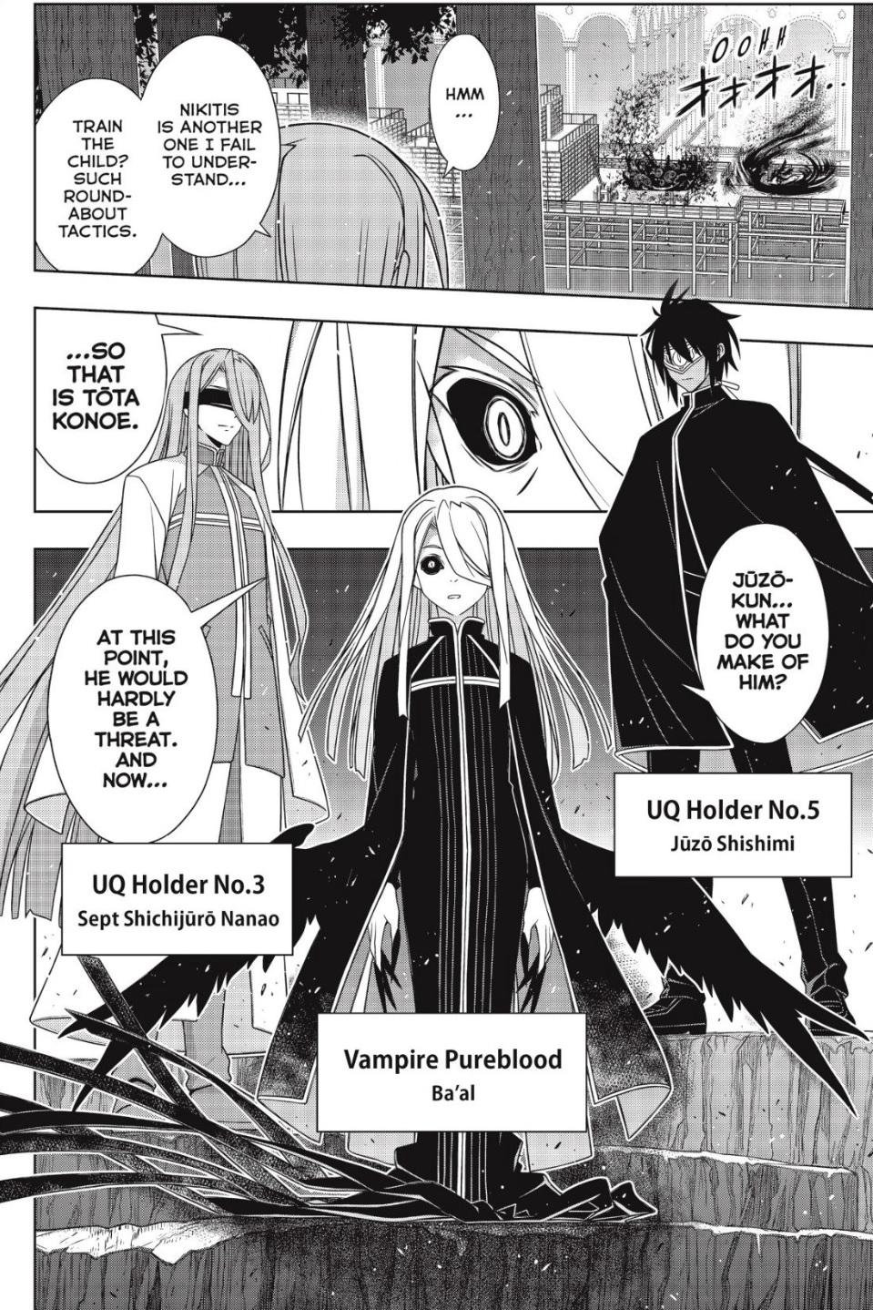 UQ Holder, Chapter 168 - Uq Holder Manga Online