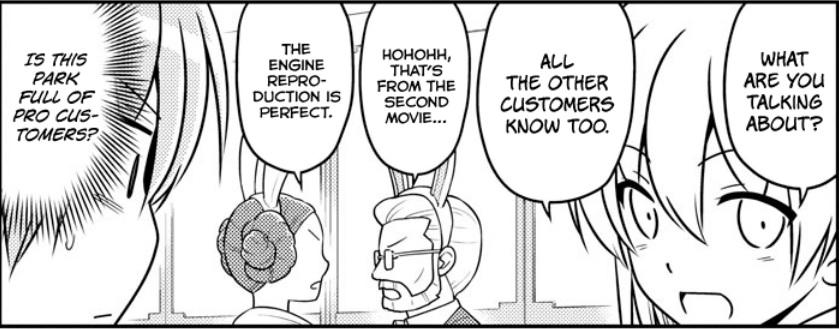 Tonikaku Cawaii Chapter 55