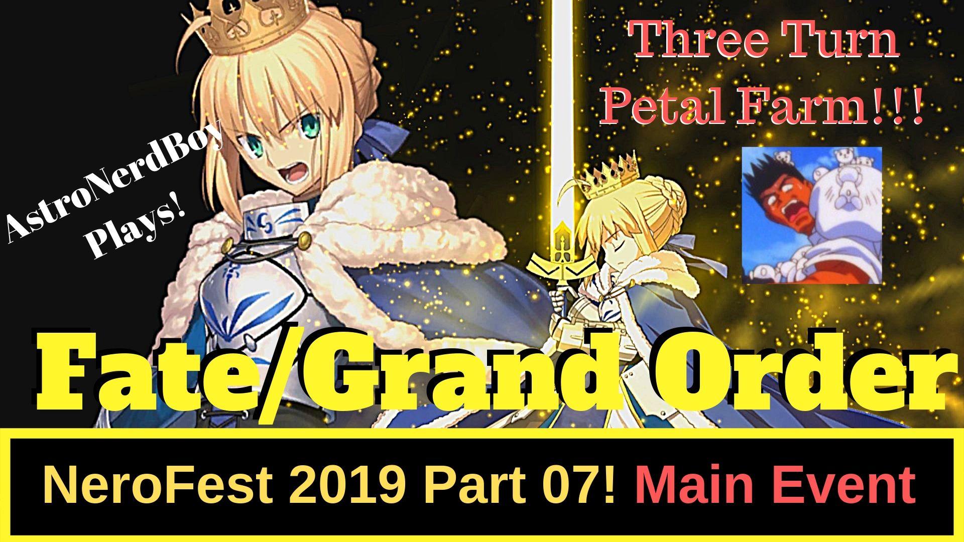 Fate/Grand Order Nero Fest 2019