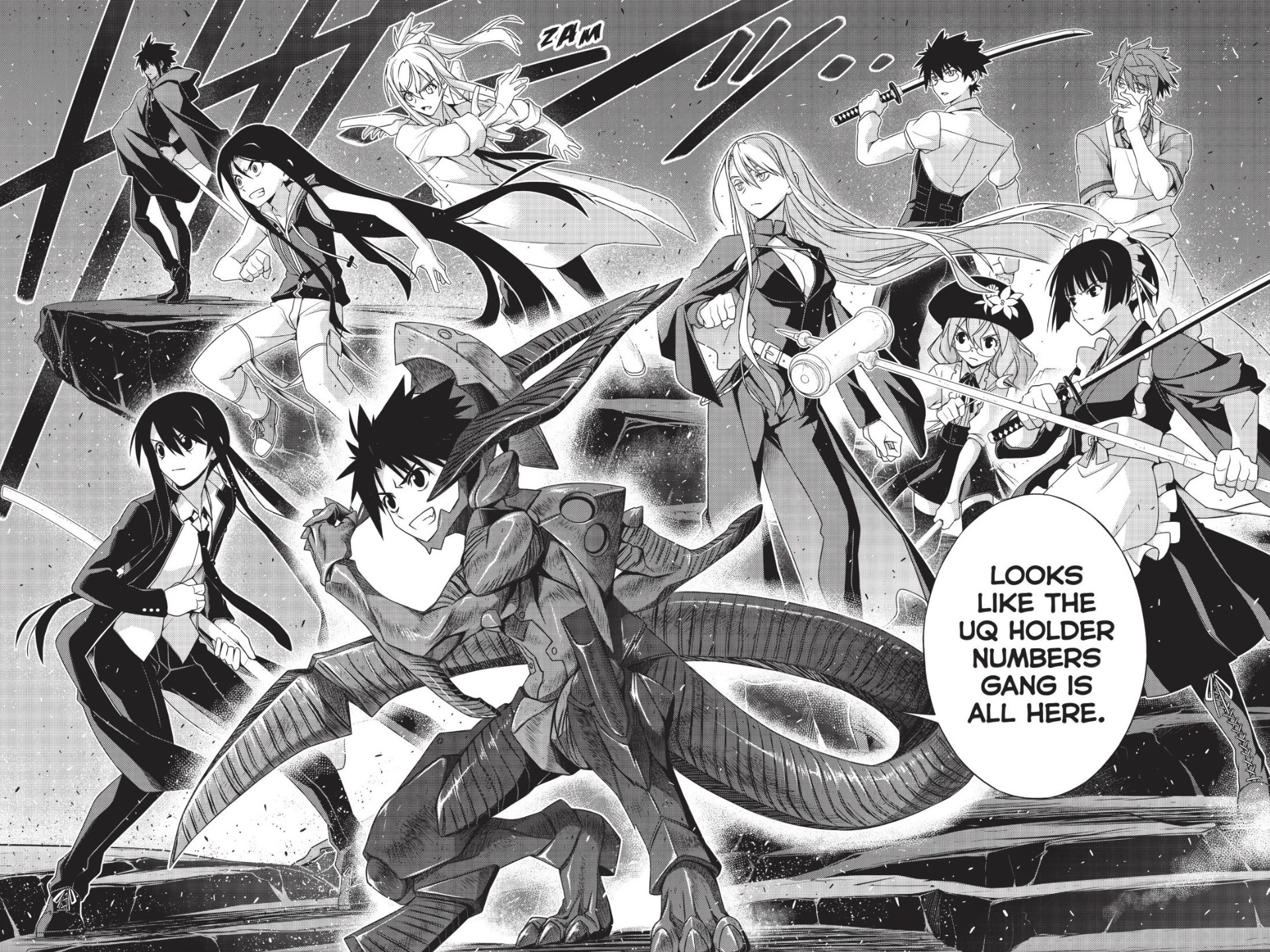 UQ Holder Chapter 164
