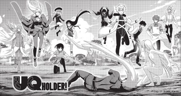 UQ Holder Chapter 173