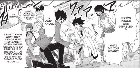UQ Holder Chapter 176