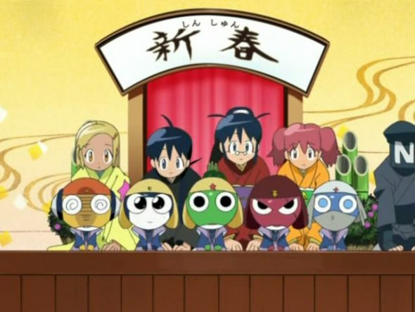 Happy New Year Keroro Gunsou