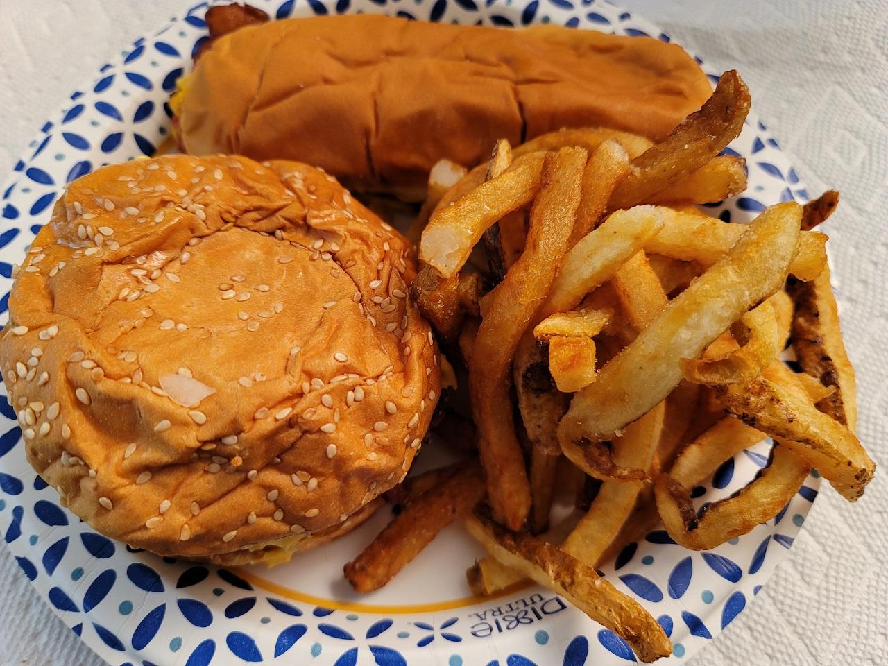 Five Guys Burger Food Hotdog