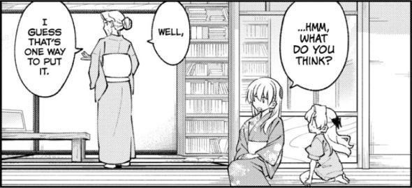 Tonikaku Cawaii Chapter 157