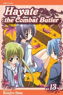 Hayate the Combat Butler Manga Volume 13