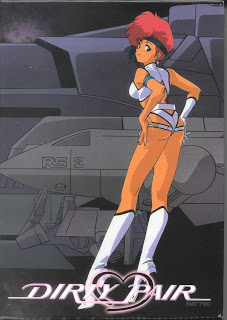 Dirty Pair TV Series Part 2 DVD