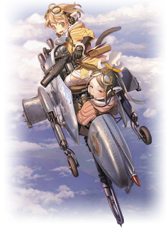 Last Exile: Fam, the Silver Wing