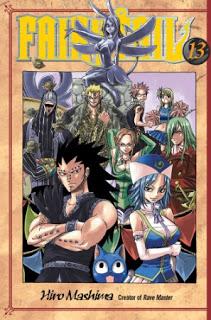 Fairy Tail Manga Volume 13