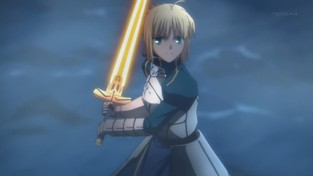 Fate Zero Stay Night IMG VS Leonidas Lancer