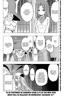 Hayate the Combat Butler chapter 387