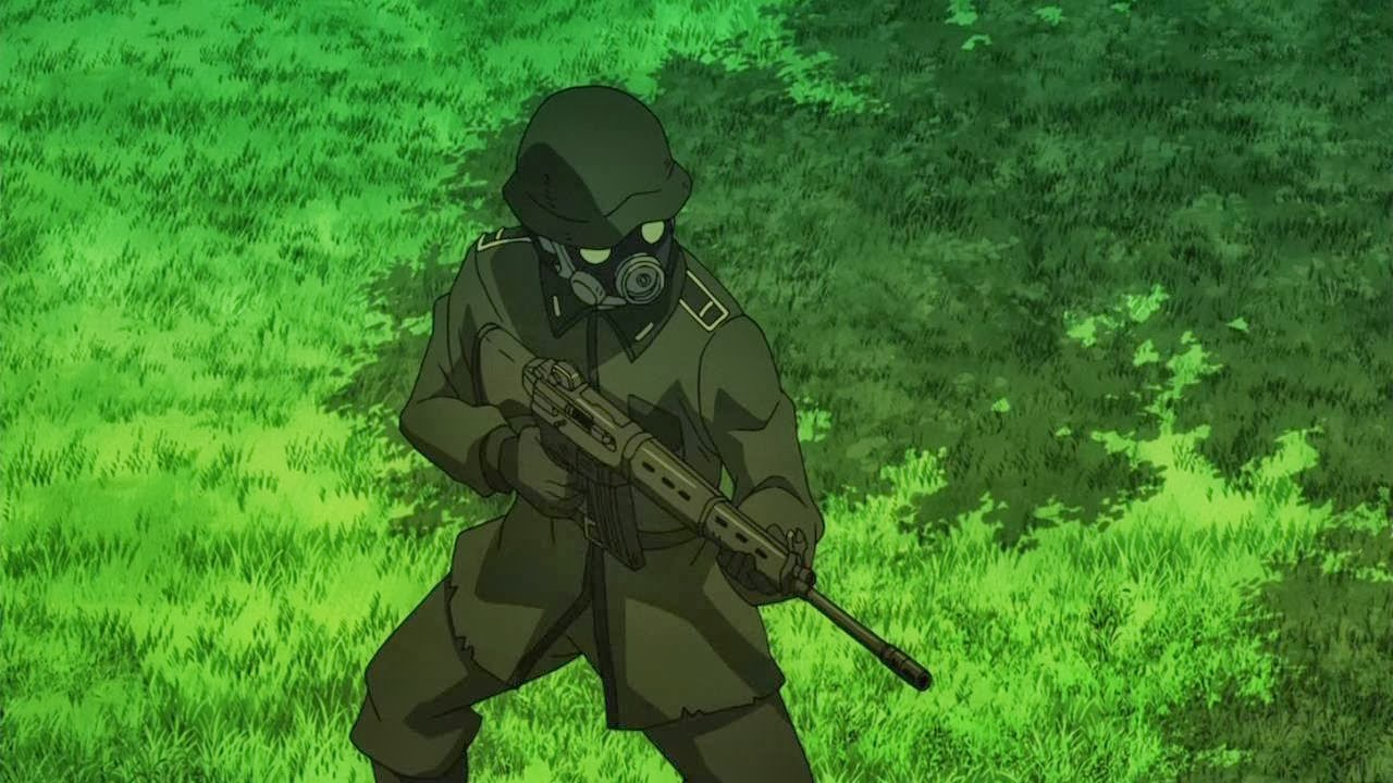 Wwii American Soldier Anime Pictures to Pin on Pinterest ...