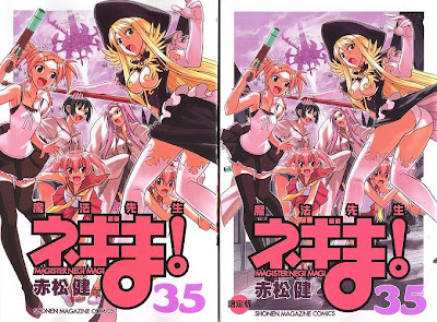 Negima! Manga Volume 35 (Japanese)