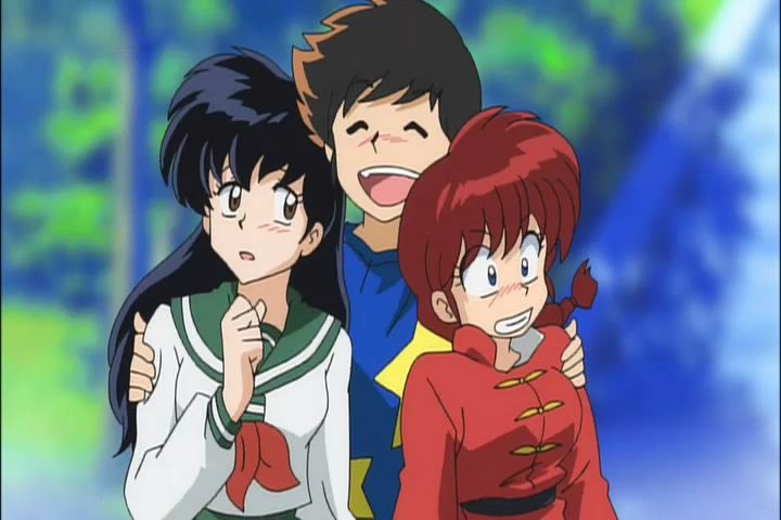 ranma and inuyasha meet the characters