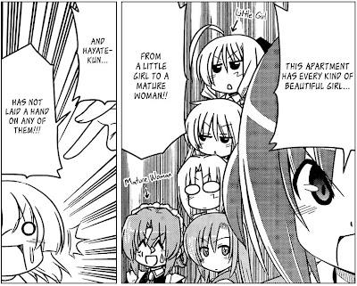 Hayate the Combat Butler Manga Chapter 372