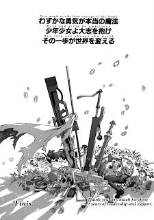 Negima! Manga Vol 38 Ch 355 Review