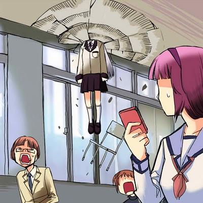 Angel Beats! -- What Yuri Wanted To Do To Tenshi in Episode 5
