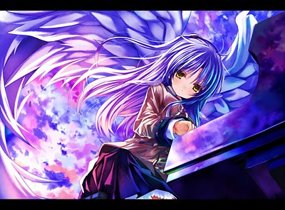 Angel Beats! -- Some Tenshi Fan Art and More