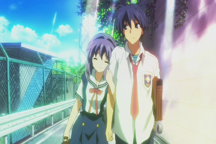 Clannad Tomoyo And Tom...