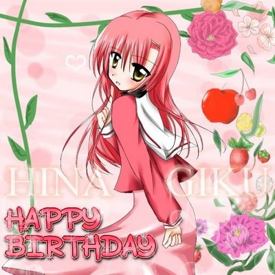 Hina Happy Birthday