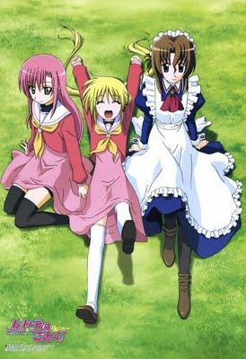 Hayate the Combat Butler Hina Nagi Maria