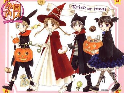 Gakuen Alice Halloween