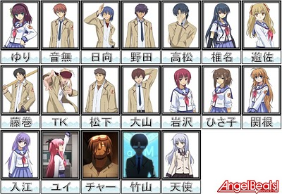 Angel Beats -- Some Last Images From Japan