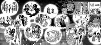 Negima! Manga Vol 33 Ch 297 Review