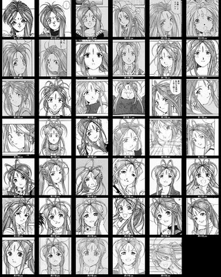 Belldandy: Her Changing Appearance Over Time (Ah! My Goddess)