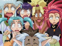 The girls of Tenchi Muyo! Ryo-ohki OVA